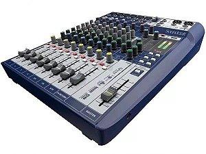 Mesa De Som Soundcraft Signature Usb 10 Canais C/ Efeitos
