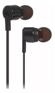 Fone de ouvido JBL T210 BLK