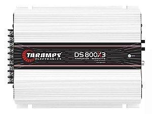 Módulo Amplificador Taramps Ds 800x3 canais 1Ohms