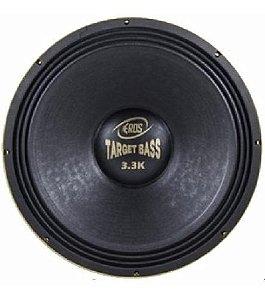 Alto Falante Eros 15P Target Bass 3.3K 1650Rms  4 Ohms
