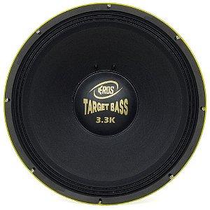 Alto Falante Eros 18P Target Bass 3.3K 1650Rms 4 Ohms