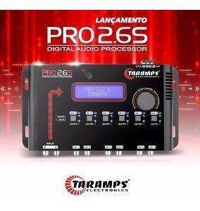 Processador Áudio Taramps Pro 2.6s 06 Saídas Digital