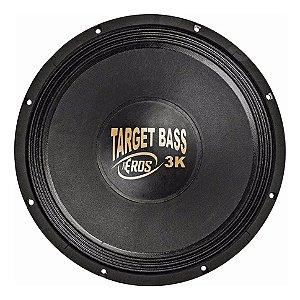 Subwoofer 15'' Target Bass 3.0k Cromo 1500 Wrms 4 Ohms Eros