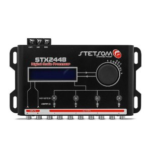 Processador de Audio com 2 Entradas 4 Saidas STX2448 Stetsom