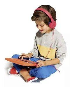 Fone De Ouvido Jbl Kids Jr300 Vermelho