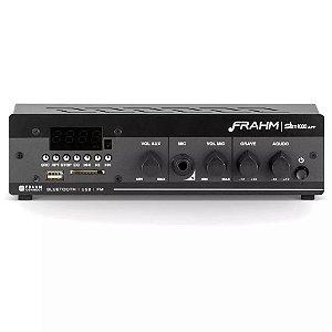 Amplificador Receiver De Som Ambiente Frahm Slim 1000 App G2