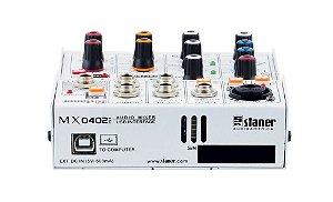 Mesa de som Staner 4 Canais Mx-0402i c/Interface Usb/ Bt