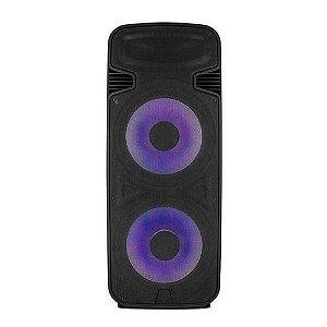 Caixa De Som Multilaser Sp344 Torre Double 15 Pol 3500w Bt/a