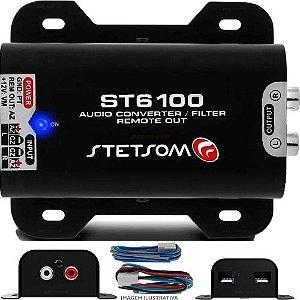Adaptador Fio Conv.remoto Aux.RCA Stetsom ST 6100 Filtro Anti Ruído