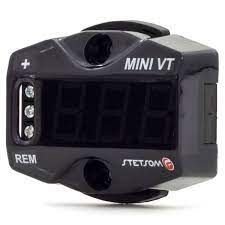 Voltímetro Digital Stetsom Mini VT LED Azul Som Automotivo