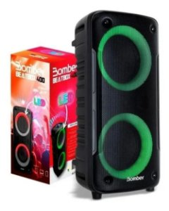 Caixa De Som Bomber Beatbox 400 BT 12w Rms