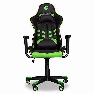 Cadeira Gamer Prime Dazz Preto/verde  Profissional 62000009