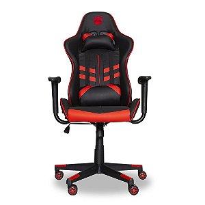 Cadeira Gamer Prime Dazz Preto/vermelho Profissional 62000008