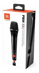 Jbl Pbm100 - Microfone Vocal Dinâmico P/ Partybox Cardióide