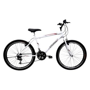 BICICLETA ARO 26 MTB MASC 21M FLASH PRO BCO BIKE