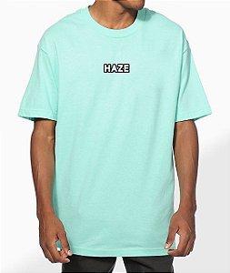 Camiseta Haze Wear Real LOGO Verde Água