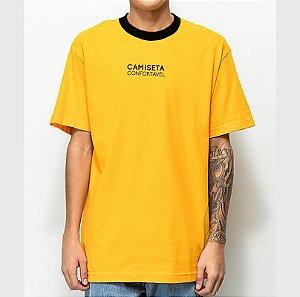 Camiseta Haze Wear X MC IGU Camiseta Confortável Amarela