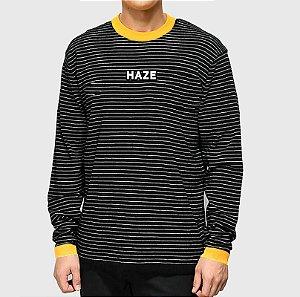Camiseta Haze Wear Manga Longa Real LOGO Listrada