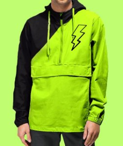 Corta Vento Haze Wear LOGO Verde