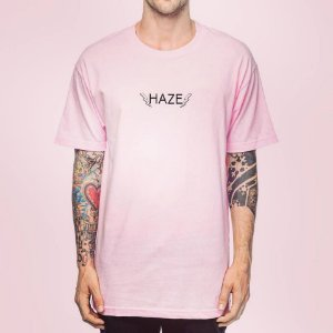 Camiseta Haze Wear HBolts Rosa