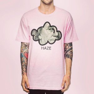 Camiseta Haze wear Benjamin franklin Rosa