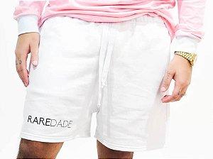 Short HAZE wear RAREDADE de Moletom Branco