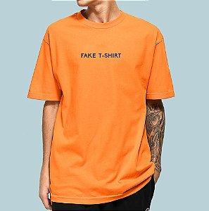 Camiseta Haze Wear Fake T-SHIRT Laranja