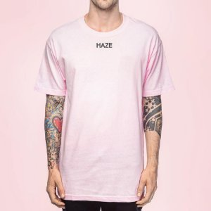 Camiseta Haze Wear NEW WAVE ROSA