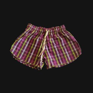 Short HAZE wear Xadrez Feminino