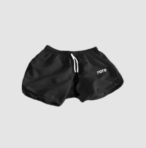 Short HAZE wear Feminino RARE Preto
