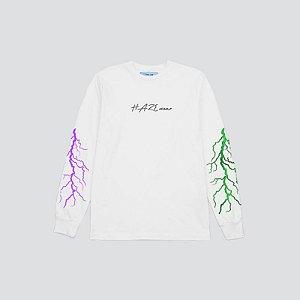 Camiseta Manga Longa Haze Wear New BOLTZ Branca