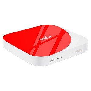 Receptor FTA RedLite HD WiFi Bivolt Branco/Vermelho