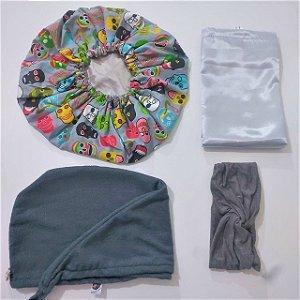 Kit Especial de Natal Cinza