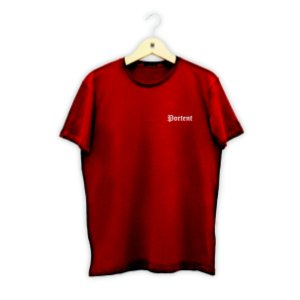 T-SHIRT Modelo RED alto relevo