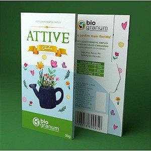 Fertilizante Mineral Simples Attive Garden 30g - Bio Granum