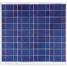 Painel Solar Fotovoltaico Yingli – 55Wp YL055P 17b 2/5