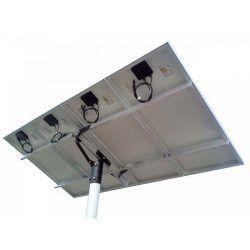 SOLAR BASE  360 : Suporte com Poste para Painéis Fotovoltaicos Redimax – 4 Painéis de até 150Wp ou 2 Painéis de 335wp