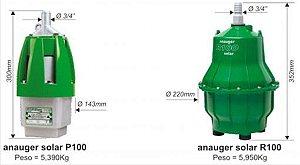 Bomba Solar Anauger P100 – Até 8.600 Ldia