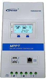 Controlador de Carga MPPT 40A 12/24V - Epever 4210N