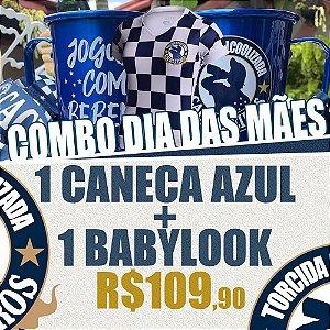 Babylook + Caneca com Tirante