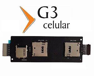 Cabo Flex Sim Card Chip Sd Asus Zenfone 2 Ze551ml