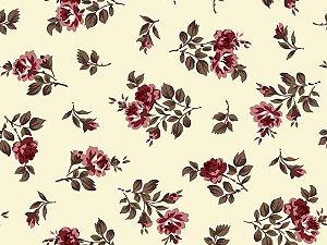 Tecido Tricoline Flor Do Campo 6035-02