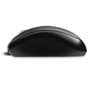MOUSE MICROSOFT COM FIO COMPACT USB PRETO U8100010