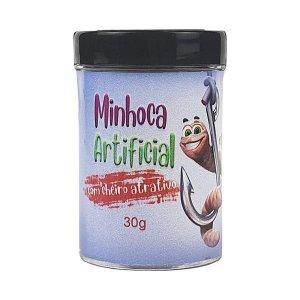 Minhoca Artificial com Atrativo 30g