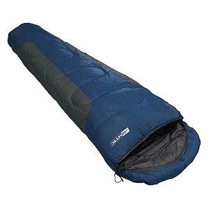 Saco de Dormir Nautika Mummy -1°C a 8°C - Azul e Cinza