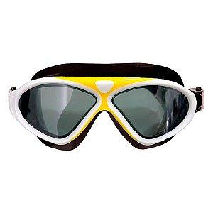 Óculos de Natação Infantil Cetus Uaru - Amarelo/Branco