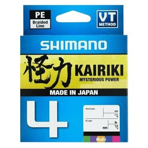 Linha Shimano Kairiki 4 150m Multicolor - 15lb 0.16mm