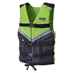 Colete Náutico Ativa Canoa 2.0 60kg - Verde