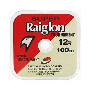 Linha Super Raiglon Branca 100m - 0.37mm