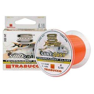 Linha Trabucco XPS Surf Cast 300m 0.18mm Laranja